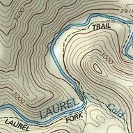 Link to Laurel Fork, VA Backpack Trail