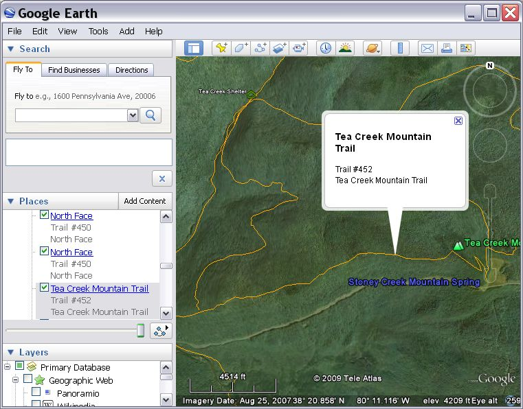 MNF Trail Network KML for Google Earth | Trail Graphics on